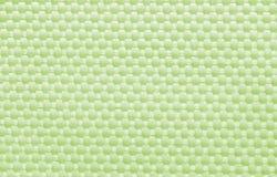 Zielonej tkaniny brezentowy tło, tekstura zdjęcia stock