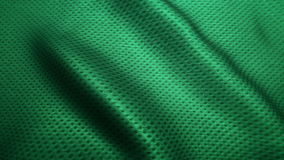 Zielonej tkaniny cajgów wysokiej jakości tekstura, rusza się fala, Bezszwowa pętla zbiory wideo