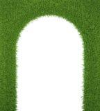 Zielonej trawy rama jako brama świeżość, ilustracji