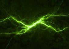 Zielonej władzy osocze Fotografia Stock