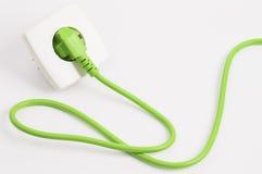 Zielonej władzy ujście i prymka Fotografia Stock