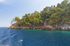 zielonej wyspy zdjęcie stock