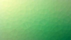 Zielony Żółty Triangulated tło Obraz Royalty Free
