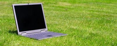 zielony łąkowy notatnik Zdjęcie Royalty Free