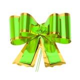 Zielony łęk Zdjęcie Royalty Free