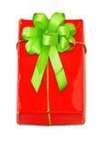 zielony łęku redbox Obrazy Royalty Free