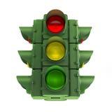 Zielony światła ruchu Zdjęcie Royalty Free