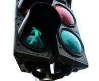 Zielony światła ruchu Obraz Stock