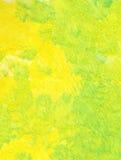 zielony, żółty Obraz Stock