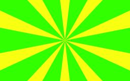 Zielony żółty promienia tła wizerunek Zdjęcie Royalty Free