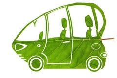Zielony życiorys samochodowy pojęcie Fotografia Stock