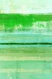 Zielony Abstrakcjonistycznej sztuki obraz Zdjęcia Royalty Free