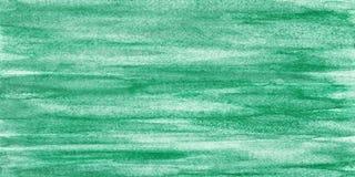 Zielony abstrakcjonistyczny akwareli tekstury tło Obrazy Royalty Free