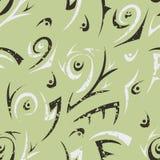 Zielony abstrakcjonistyczny bezszwowy Zdjęcie Stock