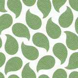 Zielony abstrakcjonistyczny bezszwowy wzór Obraz Royalty Free