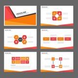 Zielony Abstrakcjonistyczny broszurka raportu ulotki magazynu prezentaci elementu szablonu a4 rozmiar ustawia dla reklamowej mark Obraz Royalty Free
