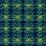 Zielony Abstrakcjonistyczny Geometryczny tło wzór Obraz Royalty Free