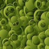 Zielony abstrakcjonistyczny szablon royalty ilustracja