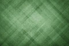 Zielony abstrakcjonistyczny tło z nowożytnym geometrycznym deseniowym projektem i stara zatarta rocznik tekstura w ciemnych bożyc Obrazy Royalty Free