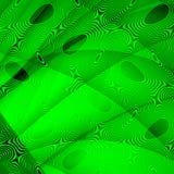 Zielony abstrakcjonistyczny tło Obrazy Royalty Free