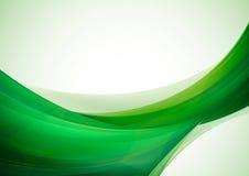 Zielony abstrakcjonistyczny tło royalty ilustracja