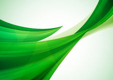 Zielony abstrakcjonistyczny tło ilustracji