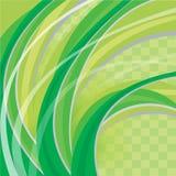 zielony abstrakcjonistyczny tło Obraz Stock