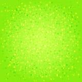 Zielony abstrakcjonistyczny tło z gwiazdami Zdjęcie Royalty Free