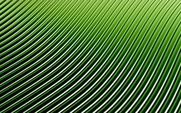 Zielony abstrakcjonistyczny wizerunek linii tło 3 d czynią Zdjęcia Stock