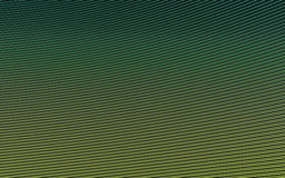 Zielony abstrakcjonistyczny wizerunek linii tło 3 d czynią Zdjęcie Stock