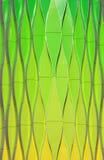 Zielony abstrakt Obrazy Stock