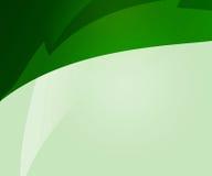 Zielony abstrakt Kształtuje tło Zdjęcia Royalty Free