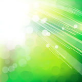 Zielony abstrakta światła tło. Obraz Royalty Free