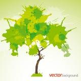 Zielony abstrakta tło Obrazy Stock