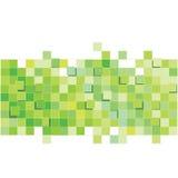 Zielony abstrakta wzoru kwadrata wzór Zdjęcie Stock