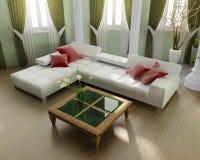 zielony apartament na najwyższym piętrze Zdjęcie Stock