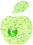 Zielony Apple Obrazy Stock
