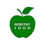 Zielony Apple - ilustracja Fotografia Royalty Free