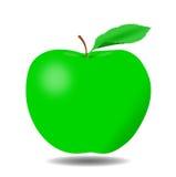 Zielony Apple - ilustracja Zdjęcie Stock