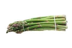 Zielony asparagus odizolowywający Obrazy Royalty Free