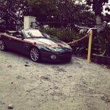 Zielony Aston Martin Zdjęcie Stock