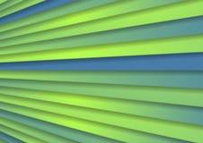 Zielony błękitny abstrakcjonistyczny korporacyjny lampasa tło ilustracja wektor