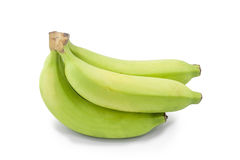 Zielony banan zdjęcia royalty free