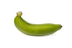 Zielony banan Zdjęcie Stock