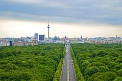 Zielony Berlin obraz stock