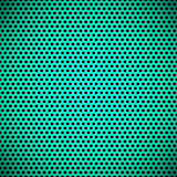 Zielony Bezszwowy okrąg Dziurkująca grill tekstura Obrazy Stock