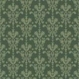 zielony bezszwowy struktury stylu rocznik Zdjęcia Royalty Free