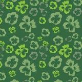 Zielony bezszwowy tło Obraz Stock