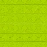 Zielony bezszwowy wzór Obrazy Royalty Free