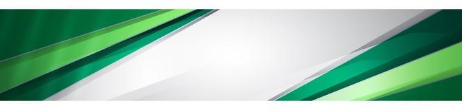 Zielony biały tło Zdjęcie Stock